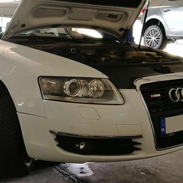 Czyszczenie filtra DPF w Audi A6