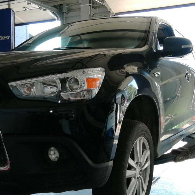 Regeneracja DPF w Mitsubishi ASX