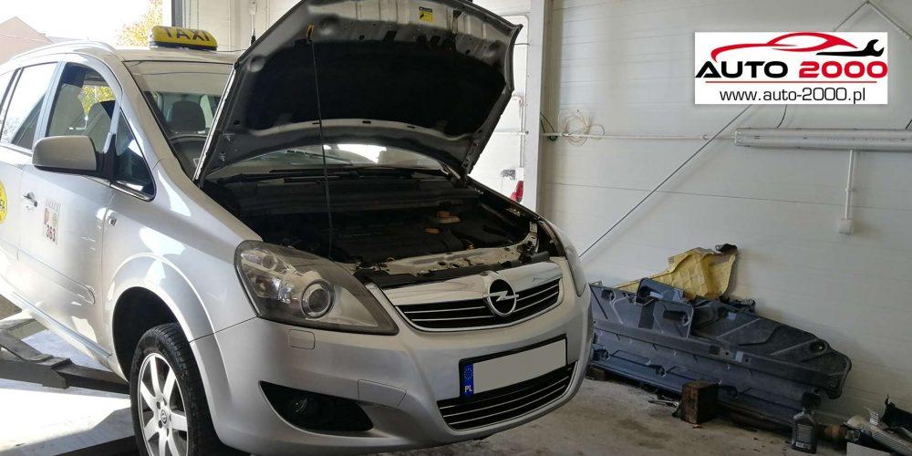 Czyszczenie Filtra DPF Opel Zafira