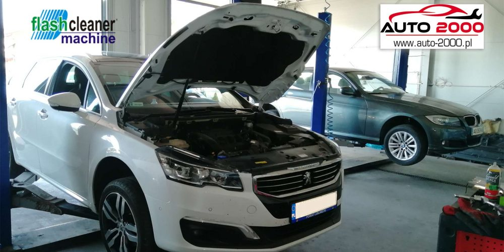 Regeneracja filtra DPF Peugeot 508