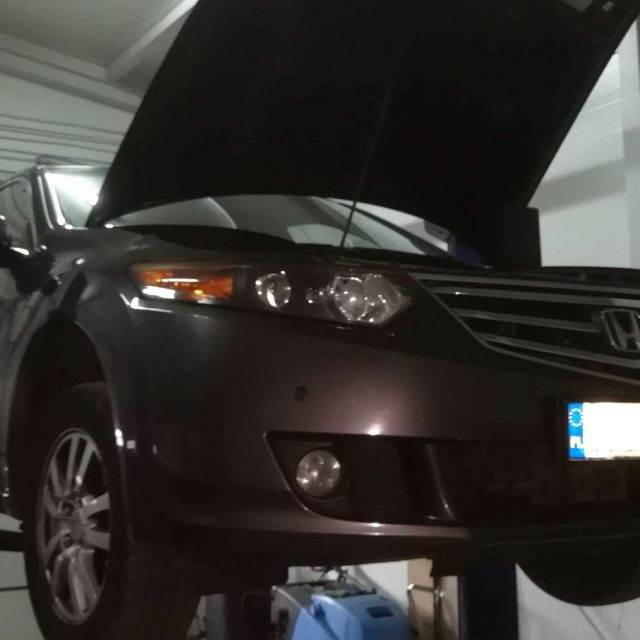Regeneracja filtra DPF Honda Accord