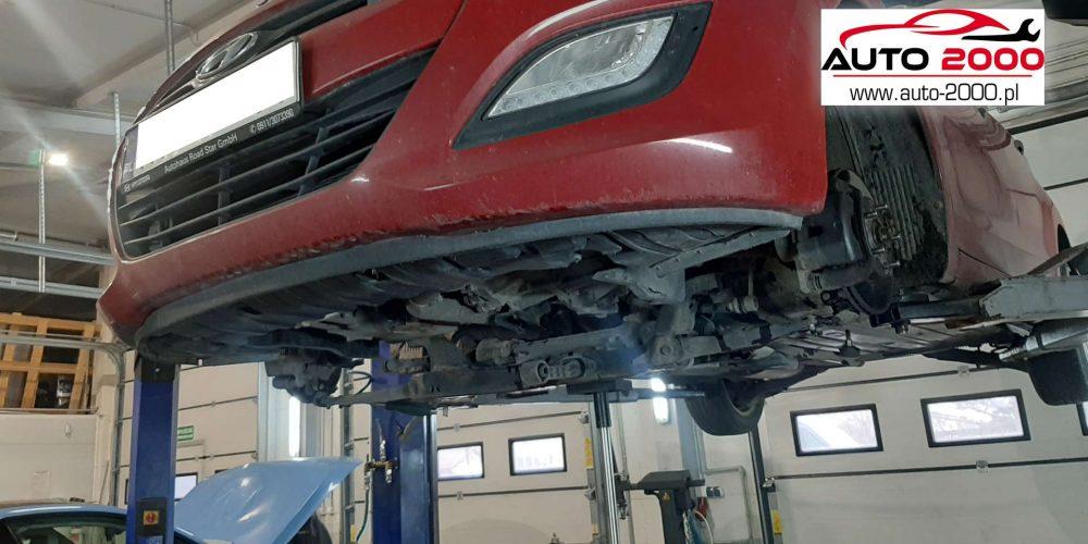 Regeneracja DPF Hyundai i30 2013rok 1,4 crdi 192000 km