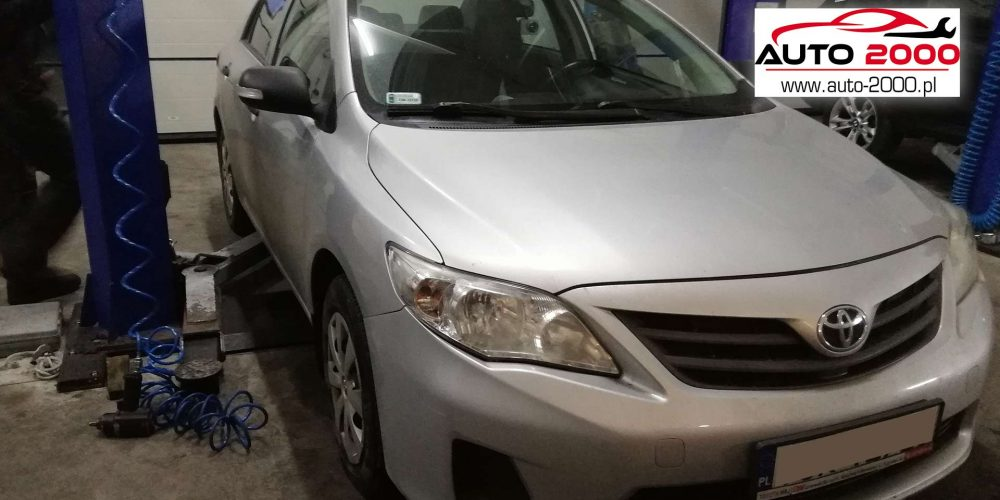 Regeneracja DPF Toyota Corolla 1.4 D4D 2010r