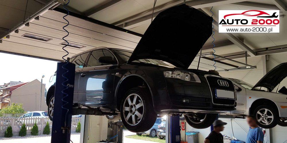 Regeneracja Filtra cząsteczek stałych Audi