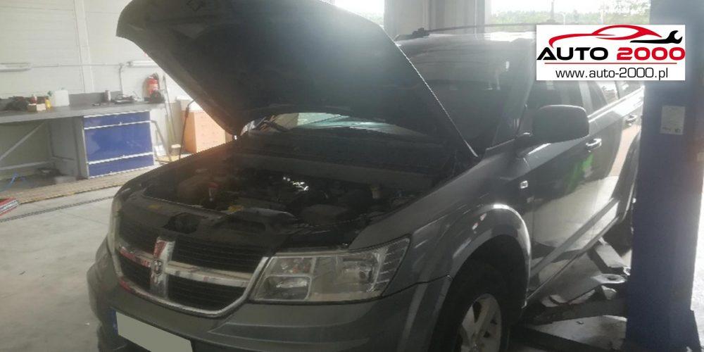 Dodge Journey regeneracja filtra DPF