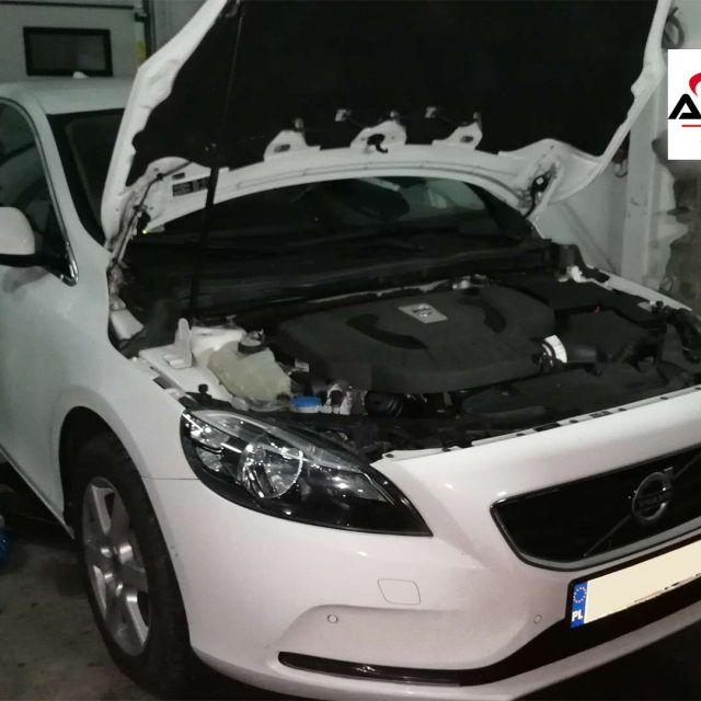 Regeneracja filtra DPF Volvo v40 2013 2.0 D