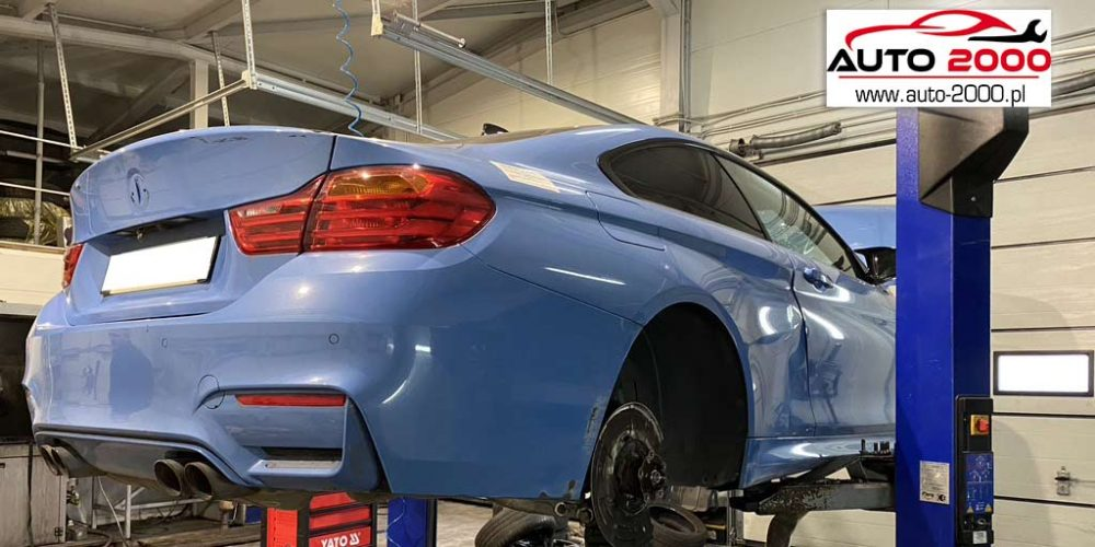 Naprawa układu wydechowego BMW M4 4.0 benzyna